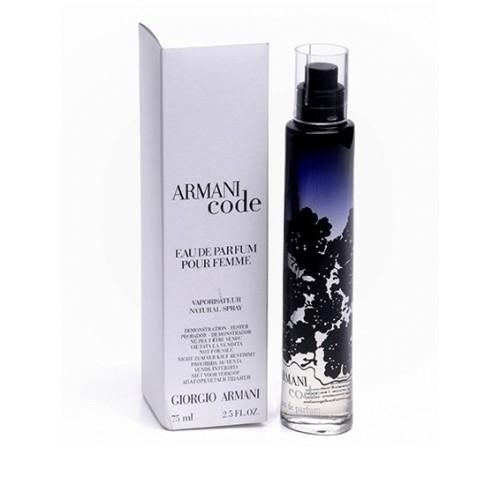 Parfum Tester De Femei Giorgio Armani Code 75 Ml Apa De Parfum