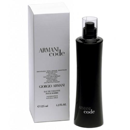 Parfum Tester De Barbati Giorgio Armani Black Code 125 Ml