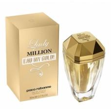 Parfum de femei Paco Rabbane Lady Million Eau My Gold 80 ml