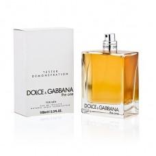 Parfum Tester de barbati Dolce Gabbana The One 100 ml
