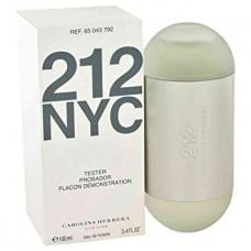 Parfum Tester de femei Carolina Herrera 212 NYC 60 ml Apa de Parfum