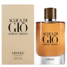 Parfum Tester de barbati Giorgio Armani Acqua Di Gio Absolu 100 ml Apa de Parfum